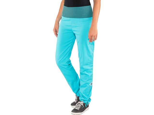 E9 Lem 19 Pantaloni Donna, cyan